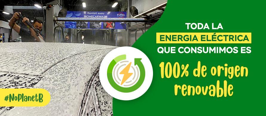 Consumo de energía renovable