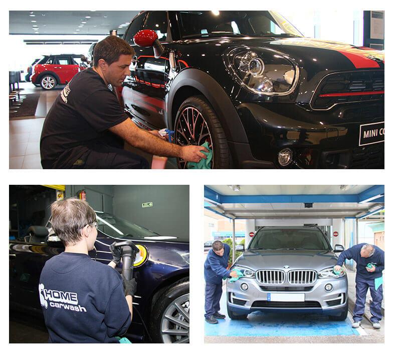 Empresa lider en limpieza de vehículos